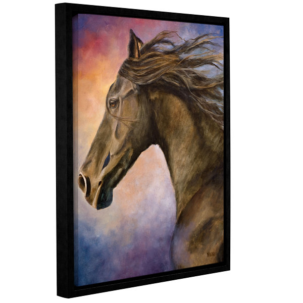 Brushstone Seer Gallery Wrapped Floater-Framed Canvas Wall Art