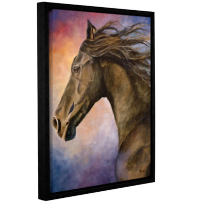 Brushstone Seer Gallery Wrapped Floater-Framed Canvas Wall Art