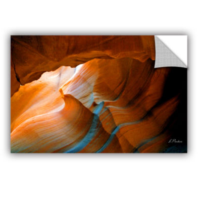 Brushstone Slot Canyon V Removable Wall Decal