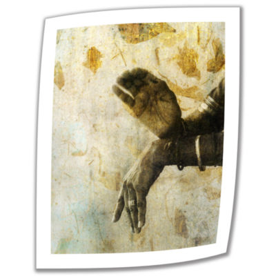 Brushstone Sacred Mudra Canvas Wall Art
