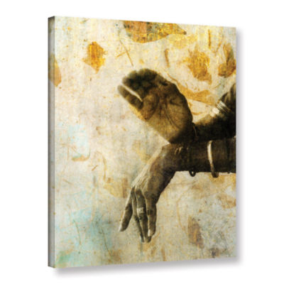 Brushstone Sacred Mudra Gallery Wrapped Canvas Wall Art