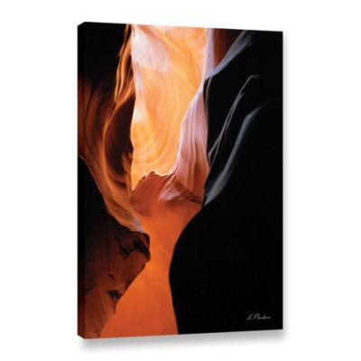 Brushstone Slot Canyon VII Gallery Wrapped CanvasWall Art
