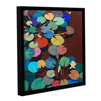 Brushstone Slow Stream Gallery Wrapped Floater-Framed Canvas Wall Art