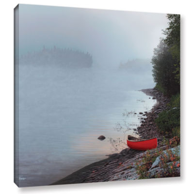 Brushstone Smoke On The Water Gallery Wrapped Canvas Wall Art