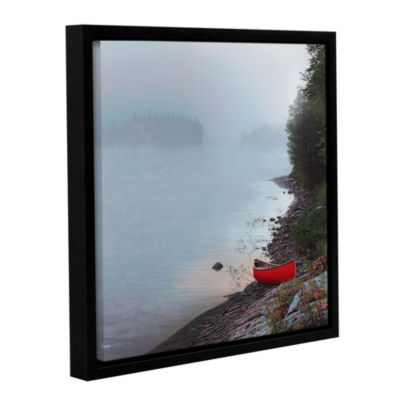 Brushstone Smoke On The Water Gallery Wrapped Floater-Framed Canvas Wall Art