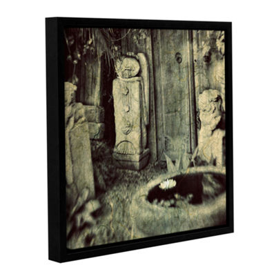 Brushstone Sculpture Garden Gallery Wrapped Floater-Framed Canvas Wall Art