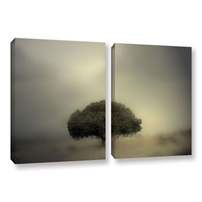 Brushstone Room To Grow 2-pc. Gallery Wrapped Canvas Wall Art
