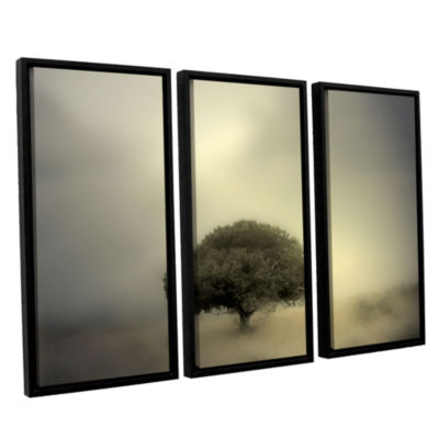 Brushstone Room To Grow 3-pc. Floater Framed Canvas Wall Art