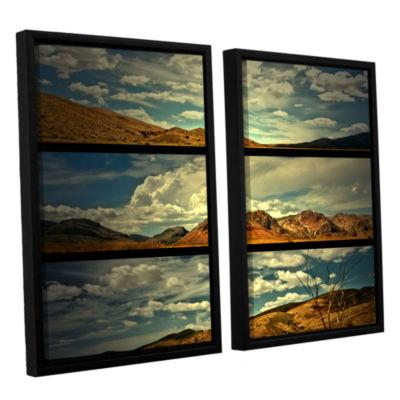 Brushstone Saving Skys 2-pc. Floater Framed CanvasWall Art