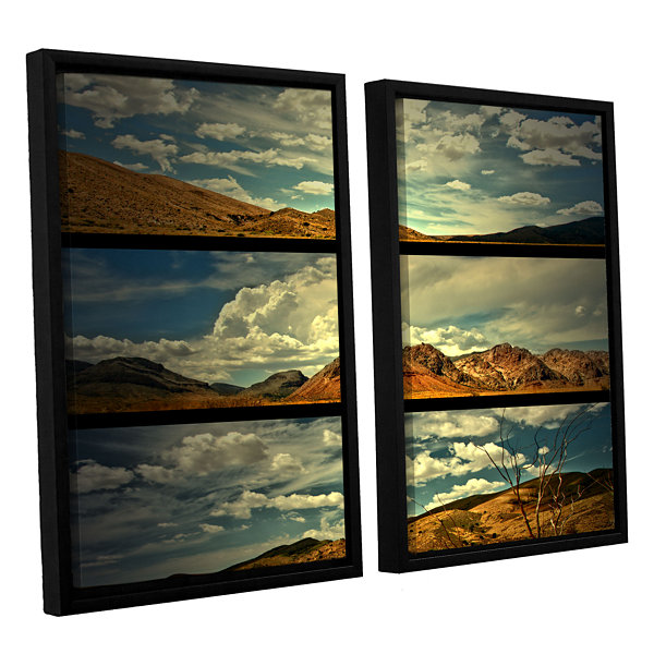Brushstone Saving Skys 2-pc. Floater Framed CanvasWall Art