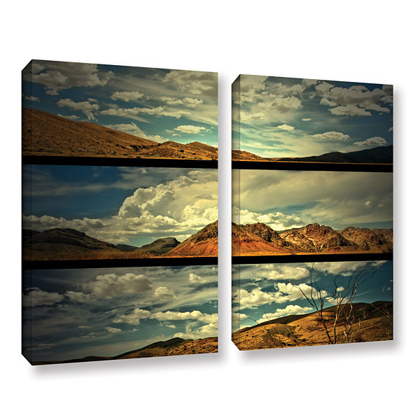 Brushstone Saving Skys 2-pc. Gallery Wrapped Canvas Wall Art