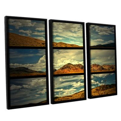 Brushstone Saving Skys 3-pc. Floater Framed CanvasWall Art