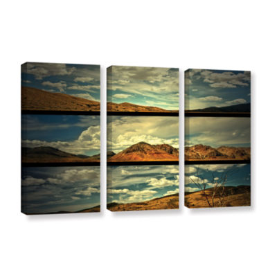 Brushstone Saving Skys 3-pc. Gallery Wrapped Canvas Wall Art