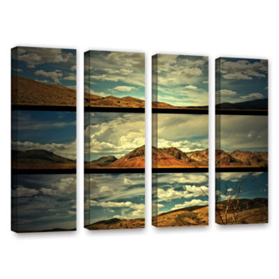 Brushstone Saving Skys 4-pc. Gallery Wrapped Canvas Wall Art