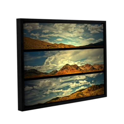 Brushstone Saving Skys Gallery Wrapped Floater-Framed Canvas Wall Art
