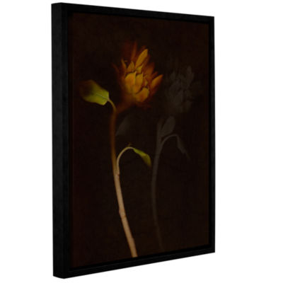 Brushstone Sanctuary (061) Gallery Wrapped Floater-Framed Canvas Wall Art