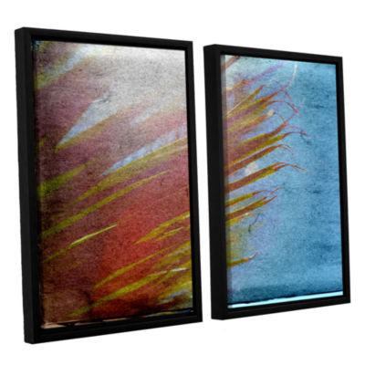 Brushstone Secondary Sun 2-pc. Floater Framed Canvas Wall Art