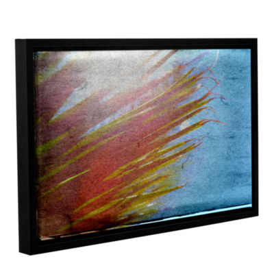 Brushstone Secondary Sun Gallery Wrapped Floater-Framed Canvas Wall Art