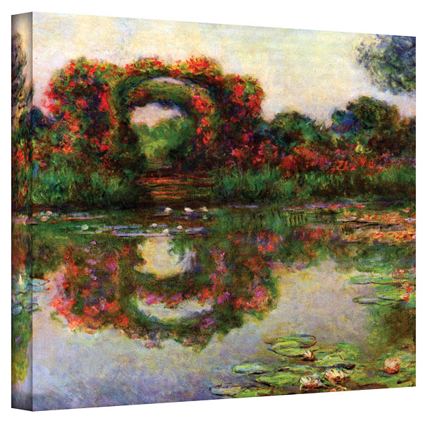 Brushstone Snowy Country Road Gallery Wrapped Canvas Wall Art