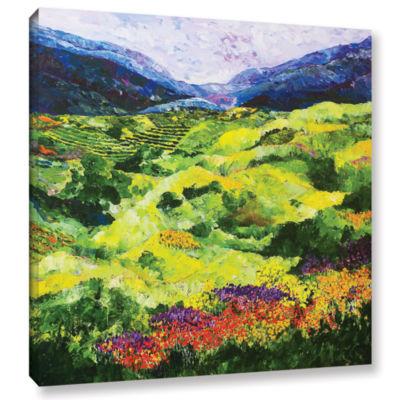 Brushstone Soft Grass Gallery Wrapped Canvas WallArt