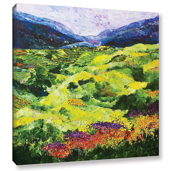 Brushstone Soft Grass Gallery Wrapped Canvas WallArt