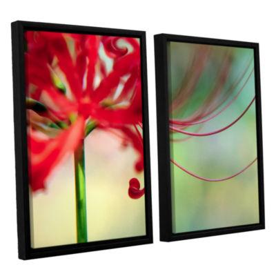 Brushstone Soft Spring 2-pc. Floater Framed CanvasWall Art