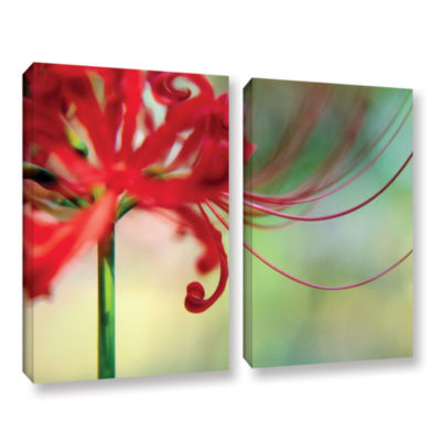 Brushstone Soft Spring 2-pc. Gallery Wrapped Canvas Wall Art