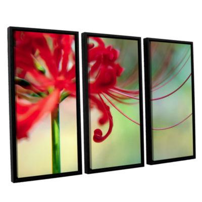 Brushstone Soft Spring 3-pc. Floater Framed CanvasWall Art
