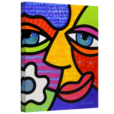 Brushstone Sabrina Starr Gallery Wrapped Canvas Wall Art