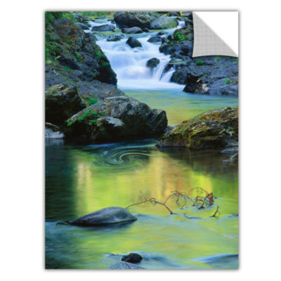 Brushstone Sol Duc River Reflections Removable Wall Decal