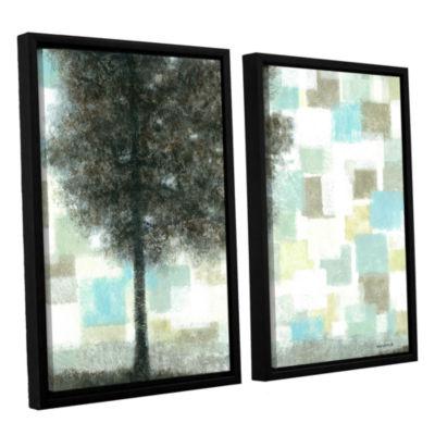 Brushstone Solidarity 2-pc. Floater Framed CanvasWall Art