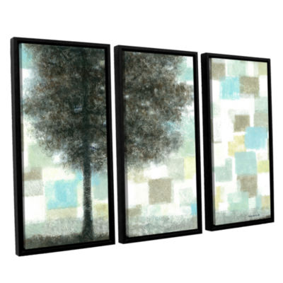 Brushstone Solidarity 3-pc. Floater Framed CanvasWall Art