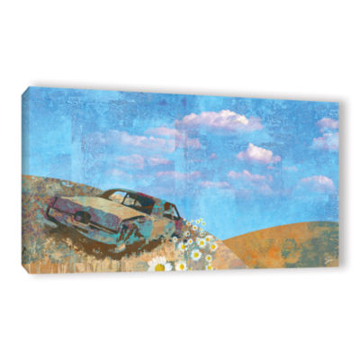 Brushstone Rusted Gallery Wrapped Canvas Wall Art