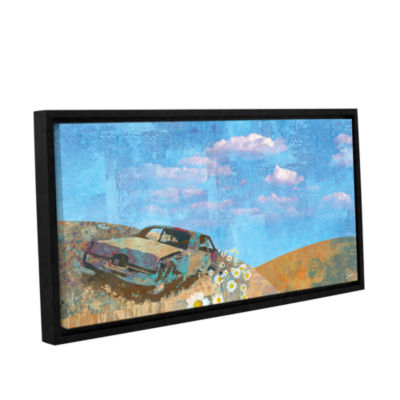 Brushstone Rusted Gallery Wrapped Floater-Framed Canvas Wall Art