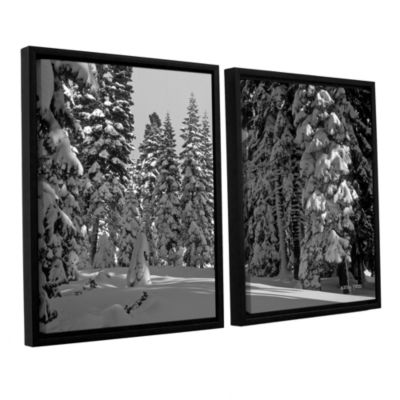 Brushstone Solitude 2-pc. Floater Framed Canvas Wall Art