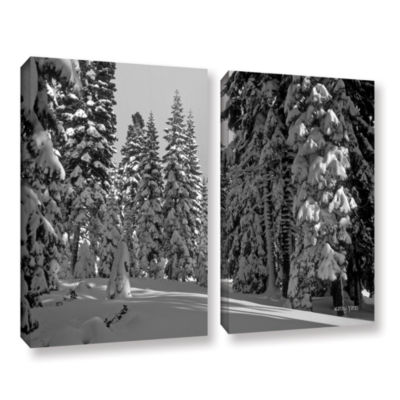 Brushstone Solitude 2-pc. Gallery Wrapped Canvas Wall Art