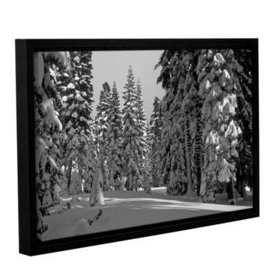Brushstone Solitude Gallery Wrapped Floater-FramedCanvas Wall Art