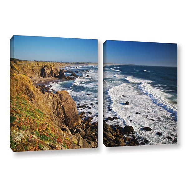 Brushstone Sonoma Coast 2-pc. Gallery Wrapped Canvas Wall Art