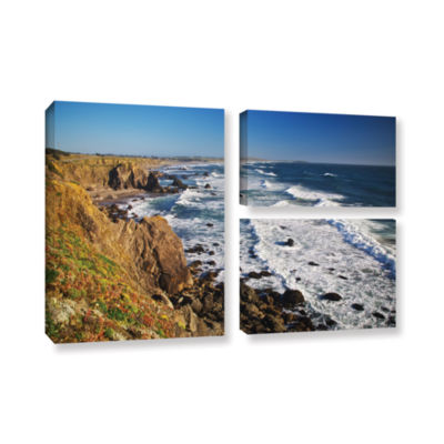 Brushstone Sonoma Coast 3-pc. Flag Gallery WrappedCanvas Wall Art