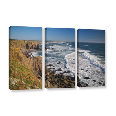 Brushstone Sonoma Coast 3-pc. Gallery Wrapped Canvas Wall Art