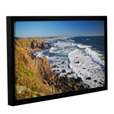Brushstone Sonoma Coast Gallery Wrapped Floater-Framed Canvas Wall Art
