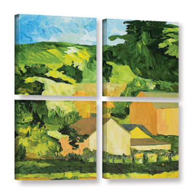Brushstone Sonoma Home 4-pc. Square Gallery Wrapped Canvas Wall Art
