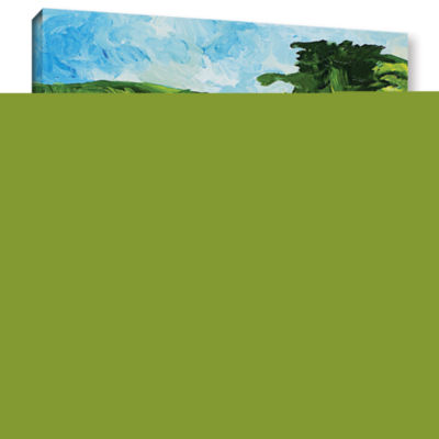 Brushstone Sonoma Home Gallery Wrapped Canvas WallArt