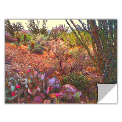 Brushstone Sonoran Spring Removable Wall Decal