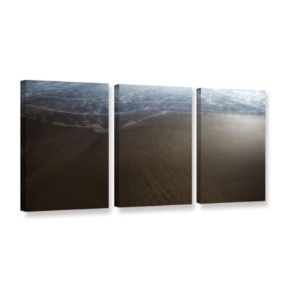 Brushstone Serene Sea 3-pc. Gallery Wrapped CanvasWall Art