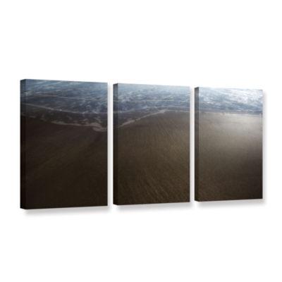 Brushstone Serene Sea 3-pc. Gallery Wrapped CanvasWall Art