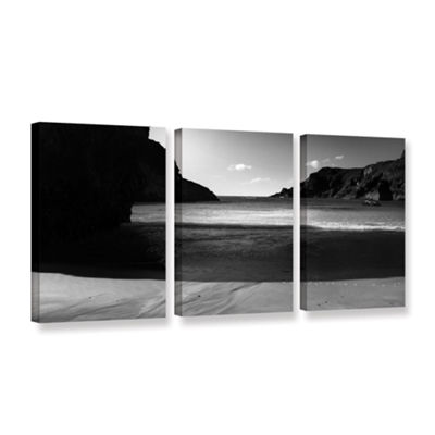 Brushstone Shadow 3-pc. Gallery Wrapped Canvas Wall Art