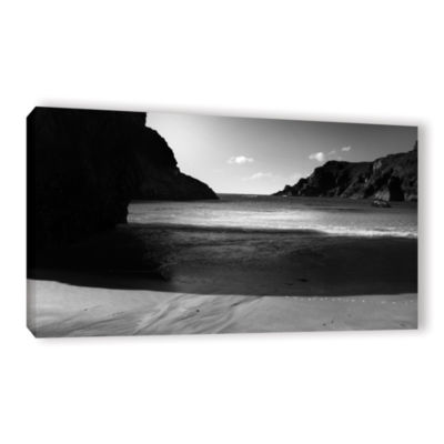 Brushstone Shadow Gallery Wrapped Canvas Wall Art