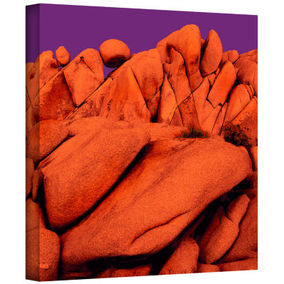 Brushstone Santa Ana Afterglow Gallery Wrapped Canvas Wall Art