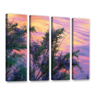 Brushstone Sandstone Reflections 4-pc. Gallery Wrapped Canvas Wall Art